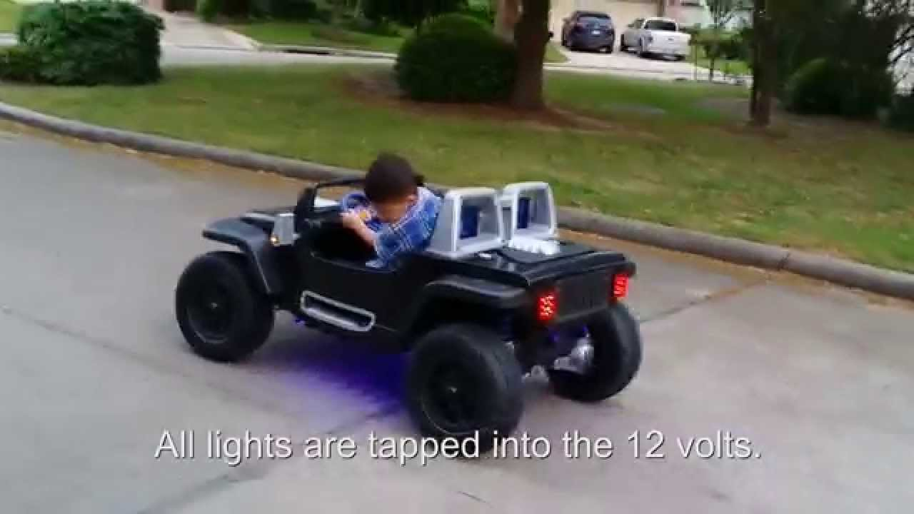 Jeep Hurricane Power Wheels Modification Youtube