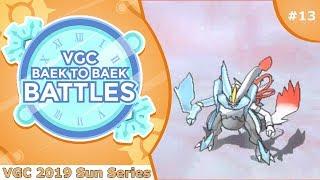 """""""Gravity Blizzard"""" Pokémon VGC 2019 [Sun Series] Baek to Baek Battles - Episode 13"""