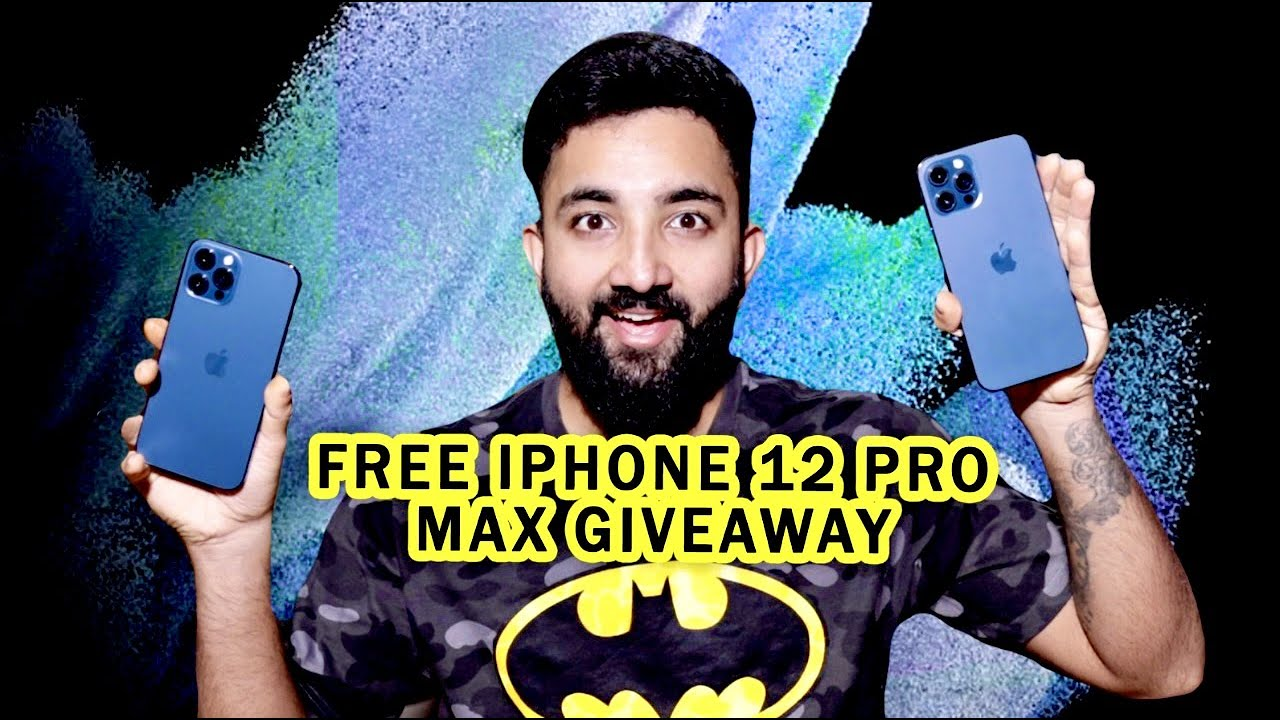Download FREE APPLE IPHONE 12 PRO MAX GIVEAWAY !! (PACIFIC BLUE ) FREE iPHONES