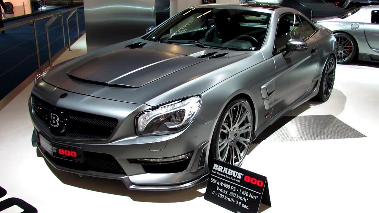 2013 MercedesBenz SLClass  Brabus 800  Exterior Walkaround