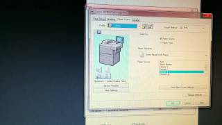 Video How to set up Booklet printing on the Canon Imagerunner 7095 download MP3, 3GP, MP4, WEBM, AVI, FLV November 2018
