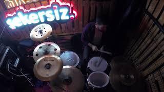 Athena - Ben Böyleyim / Davul (Drum Cover) - #Şekersiz Sahnesi / Kocaeli Video