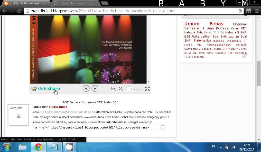 Tutorial Download Di SlideShare - YouTube