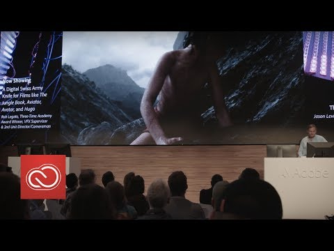 "A Digital Swiss Army Knife for Films like ""The Jungle Book"" (NAB Show 2017) 