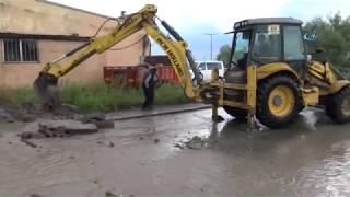 Kars'ta Sanayi Sitesi Sular Altında Kaldı