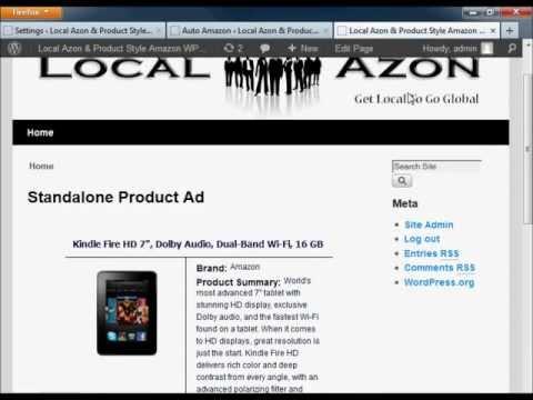 amazon link localized free wordpress