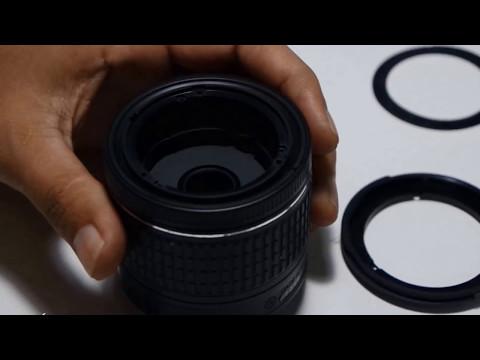 Disassembly - Teardown Lens AF-P Nikon 18-55mm DX VR