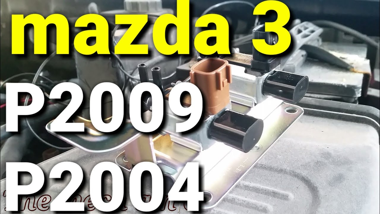 fallo p2009 mazda 6