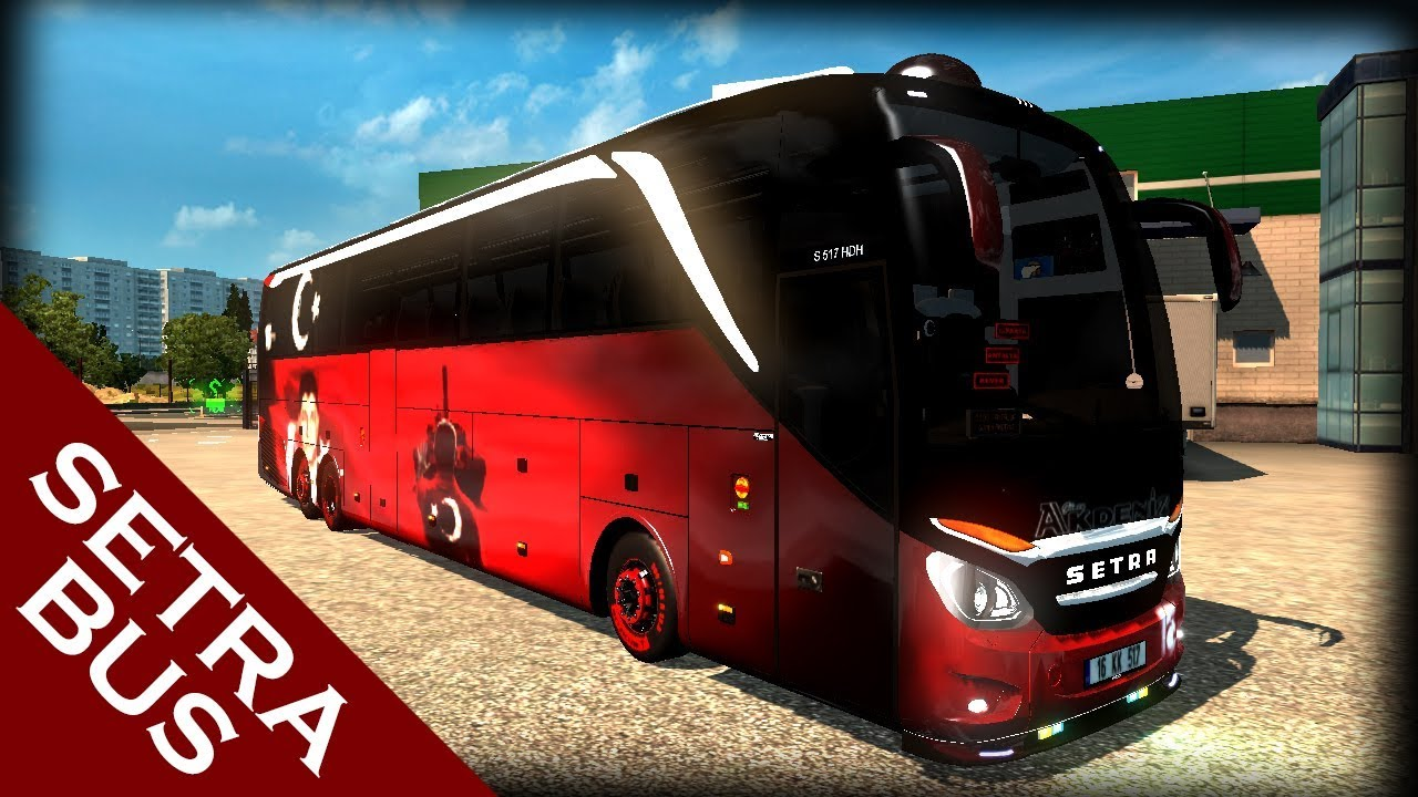 ETS2 1 28 Setra 517 2017 v3 5 Bus Mod by Direct Gaming