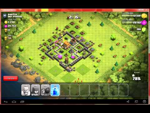 Attack Pattern On Clash Of Clans