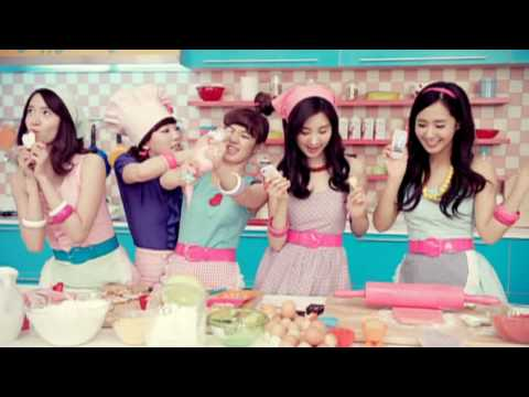 SNSD CF - Cooky MV LG cyon Apr 26, 2010 GIRLS