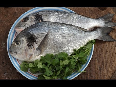 How To Prepare And Cook Sea Bream.Recipe 1.