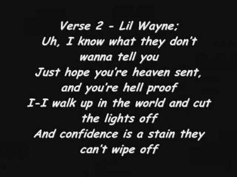 Lil Wayne ft. eminem Drop The World Lyrics