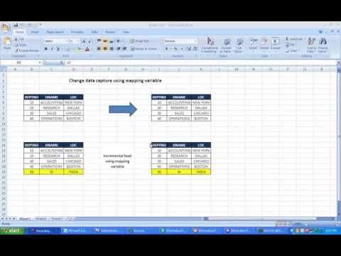 Incremental Load In Informatica Using Mapping Variable By Manish