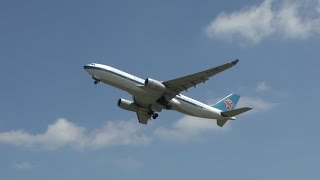 China Southern 1st take off to Beijing at Birmingham Airport