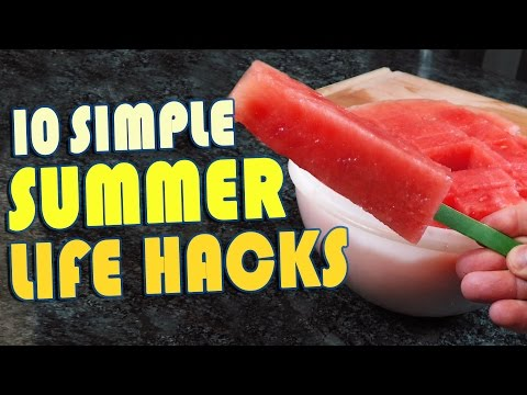 Thumbnail: 10 Summer Life Hacks To Try Right Now