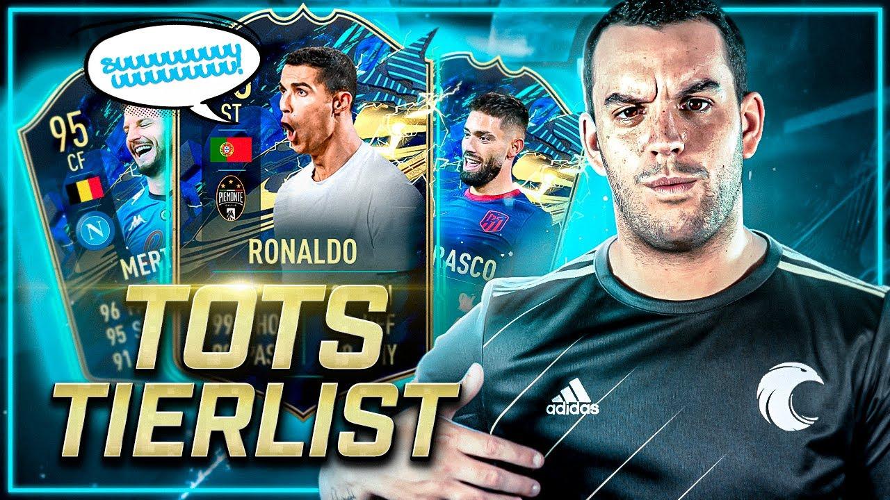 Los MEJORES TOTS de FIFA 21 🤩 ANÁLISIS, TIERLIST y REVIEW con Máximo Cuevas
