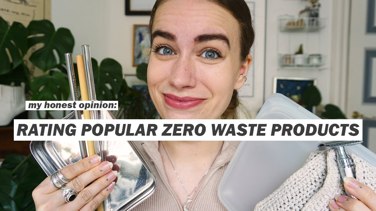 RATING POPULAR ZERO WASTE SWAPS pt 2 // things we think we need, but we don't