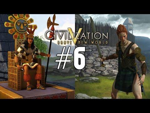 Civilization 5: Emperor Co-op [Celt / Inca] - 6
