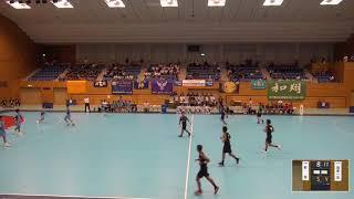 2019年IH ハンドボール 男子 2回戦 新宮(福岡)VS 関東第一(東京)