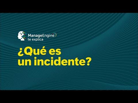 ¿Qué es un Incidente TI según ITIL®? | ManageEngine LATAM