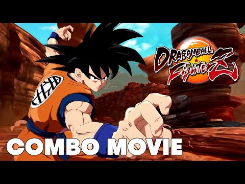Dragon Ball FighterZ SAGA COMBO COMPILATION By XOver