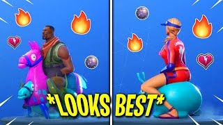 🔥 THESE FORTNITE SKINS LOOK *BEST* WITH THE NEW BOUNCER EMOTE!! 🔥