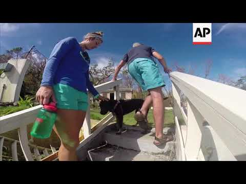 Couple describe ordeal and aftermath of hurricane Irma