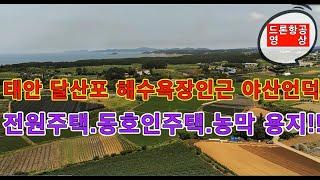 태안 부동산/안면도 토지/ 태안 달산포 해수욕장  인근…