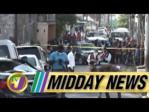 5 Year Old Girl Shot & Killed   Mayhem in St. James   TVJ Midday News - Oct 7 2021