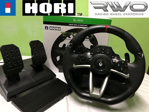 Hori Racing Wheel Overdrive Rwo Xbox One Unboxing And Review Early 2019 Youtube
