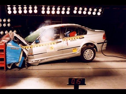 BMW E46 3 Series Crash Test by Euro NCAP