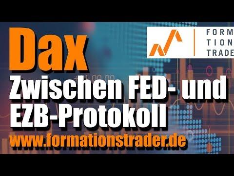 Dax Analyse: Zwischen FED- und EZB-Protokoll