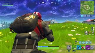 Fortnite Wingman skin Gameplay solo
