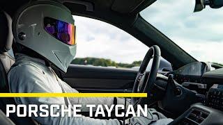 Stig Lap: Porsche Taycan Turbo S | Top Gear: Series 28