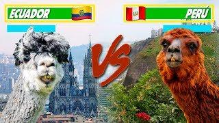 Las 10 diferencias entre Ecuador y Perú