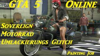 GTA 5 Online - Western Sovereign Motorrad Lackierung Glitch (Painting Job) 1.22 Deutsch