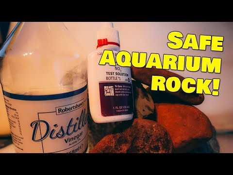 Testing Rocks For Aquarium - Easy Test For Aquarium Safe Rock