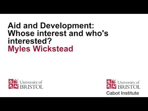 Aid and Development: Whose interest and who's interested?