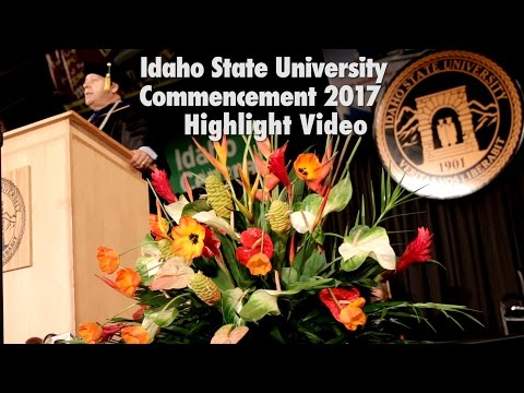 2017 Commencement Highlights - Idaho State University
