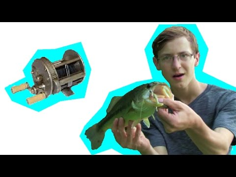 Vintage fishing tackle experiment youtube for Kmart fishing license
