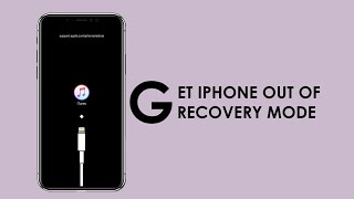 How to Get iPhone Out of Recovery Mode (2019 Updated)