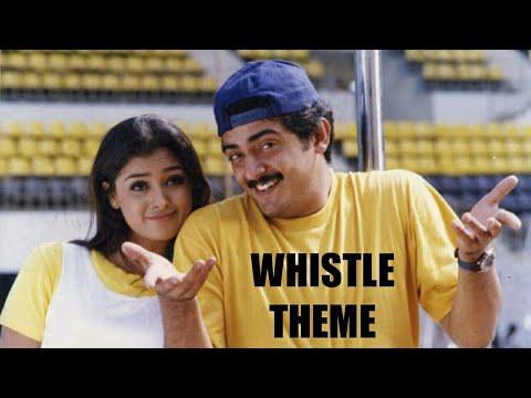 VAALI WHISTLE THEME MUSIC | THALA AJITH