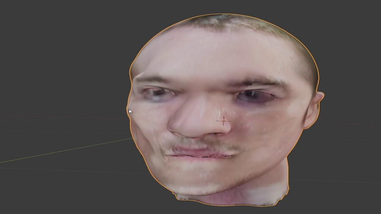 Head Build Reconstruction (Process Video)