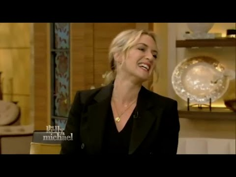Titanic Actress Kate Winslet Interview ! Live With Kelly & Michael 9th Oct 2015)