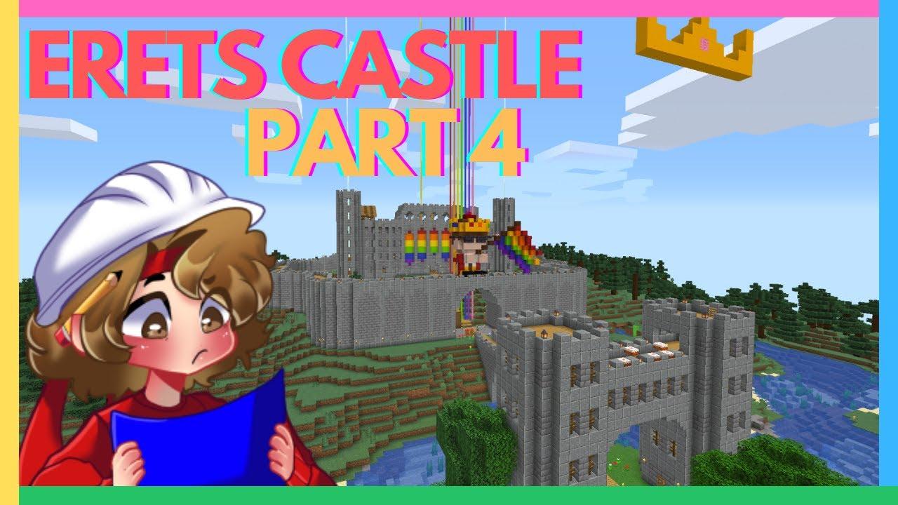 How to Build Eret's Castle (Dream SMP Tutorial) [FINALE]