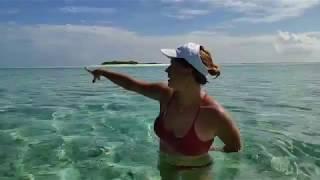 остров Мативери, Мальдивы  необитаемый остров