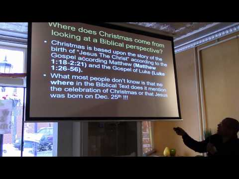 Ancient Kemet, The Winter Solstice & The History of Christmas Clip 1 - Michael Imhotep - 12-17-16
