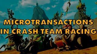 Activision Shoveling Microtransactions Into Crash Team Racing Nitro-Fueled