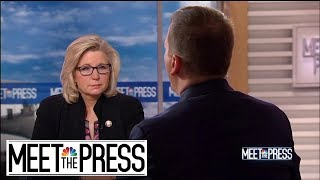 Full Cheney: Democratic Leaders Are 'Protecting' Ilhan Omar | Meet The Press | NBC News
